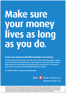 Bank of Montreal ad