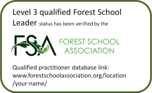 Forest School Leader badge
