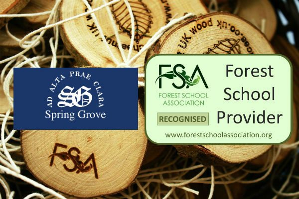 First Recognised Forest School Provider in Kent – Spring Grove Independent School