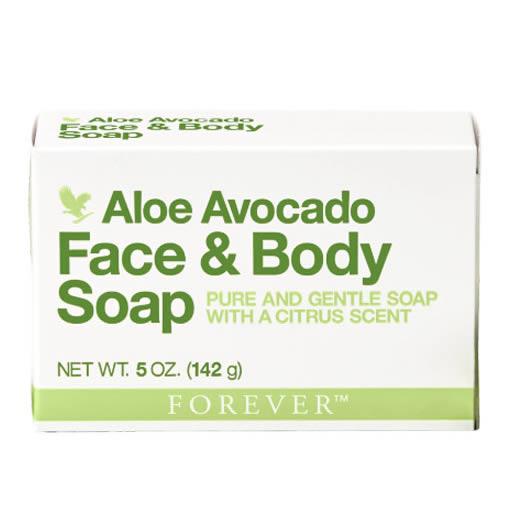 Forever Aloe Avocado Face & Body Soap