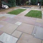 Artificial Grass Patio in Bury