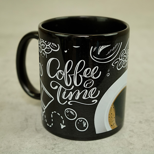 Transfer paper for printing onto Hard surfaces such as Mugs, Glass, Wood and more