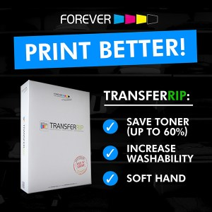 TransferRIP Save Toner & Improve the Washability with this Professional Printing Software