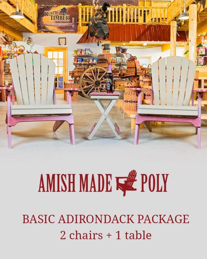 Basic Adirondack package