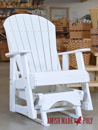 Amish Made Poly Adirondack 2' Glider