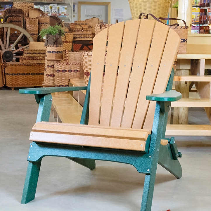 Amish-Made-Poly-Folding-Adirondack-Chair-Cedar-Woodland-Green