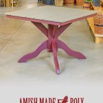 Amish Made Poly Dining Height Table
