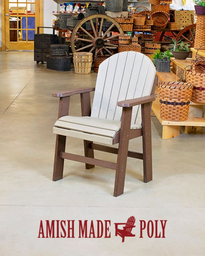 Amish Made Poly Dining Chair