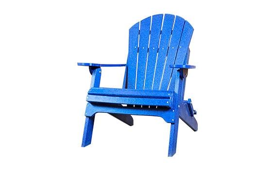 Amish Made Poly - Folding Adirondack Chairs Thumbnail