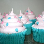 Vanilla Cupcakes with Marshmallow Icing