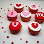 Valentines Vanilla Cupcakes