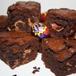 Mini Cadbury Cream Egg Brownies