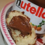 Nutella Filled Doughnuts