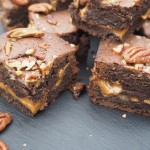 Salted Caramel and Pecan Brownies