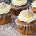 Apple Crumble and Custard Cupcakes