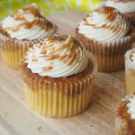 Spiced Pumpkin Latte Cupcakes