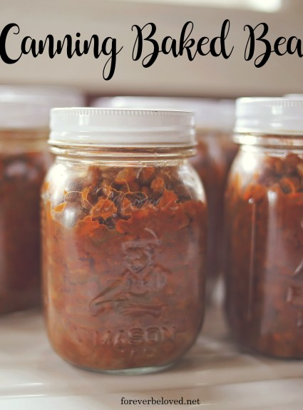Canning Baked Beans