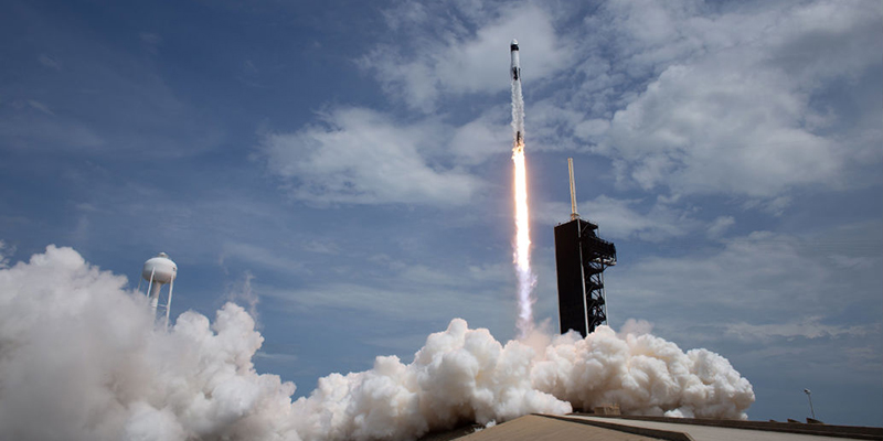 Video: Bermuda Mentioned During SpaceX Launch - Forever ...