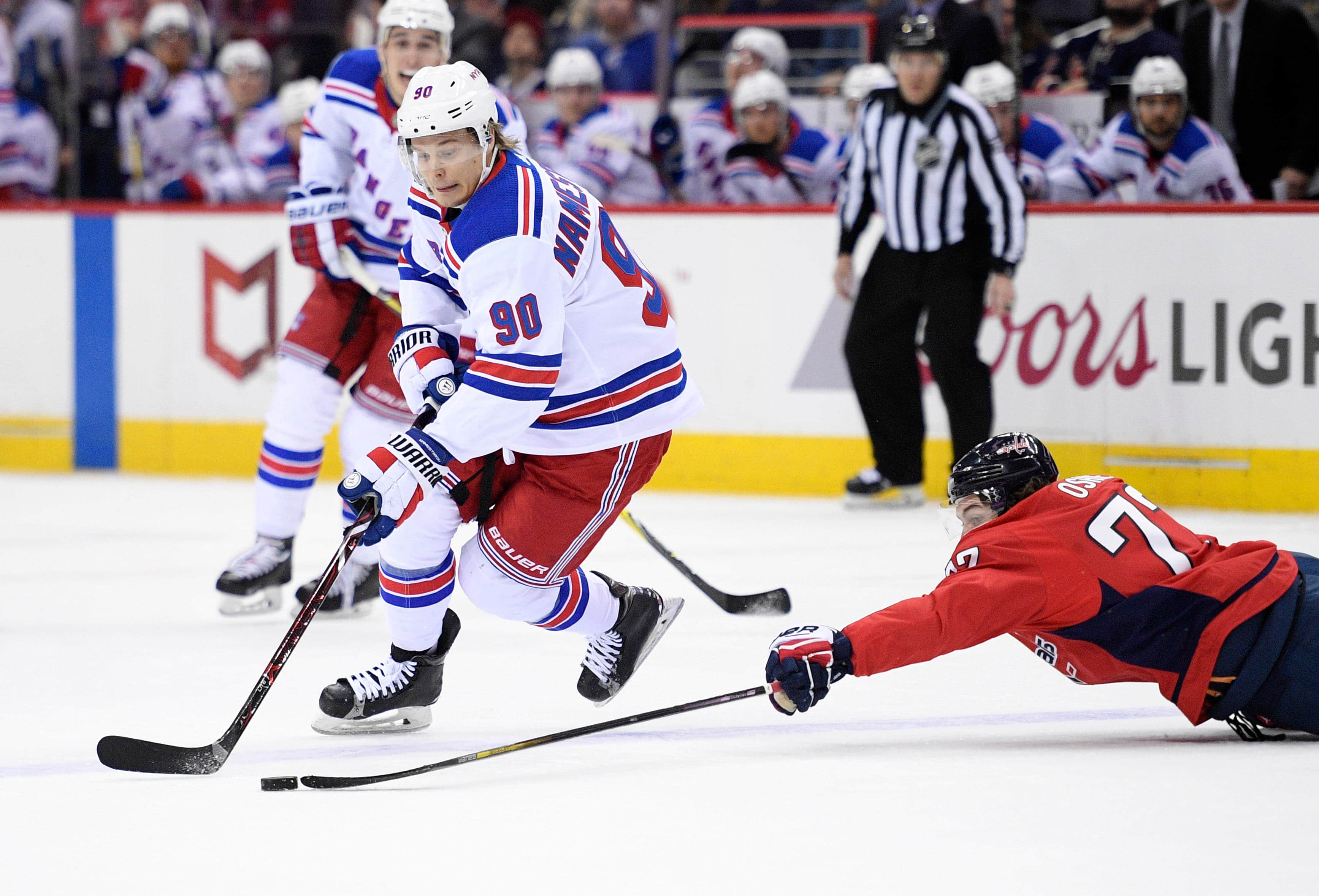 Vladislav Namestnikov Traded To Senators