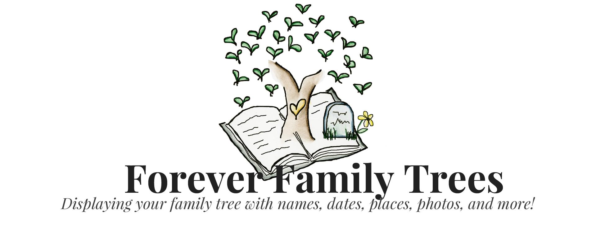 Forever Family Trees logo 4