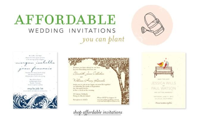 Destination Wedding Invitations Organic