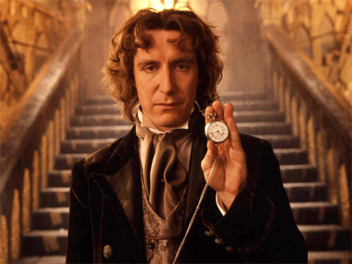 Paul McGann as the 8th Doctor - Dr Who