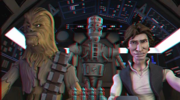 Star Wars Cargo Drop Animation
