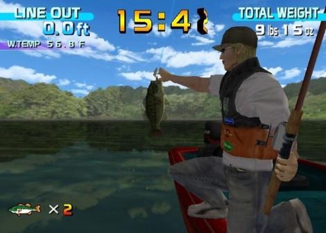 Sega Dreamcast Sega Bass Fishing