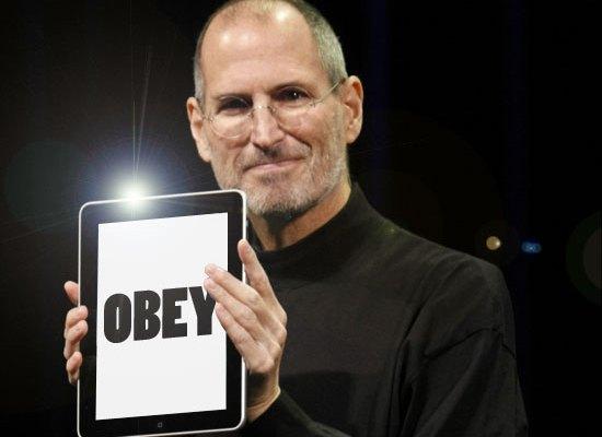 Obey Steve Jobs Law'