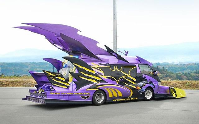 Batvan by Japanes Comic Book Fan