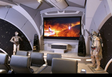 starwars 470x323 10 Awesome Home Theaters