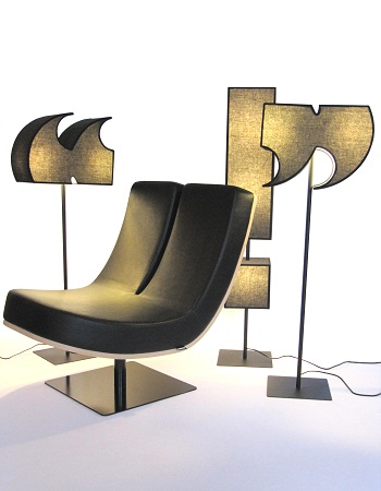 Punctuation Mark Lamps