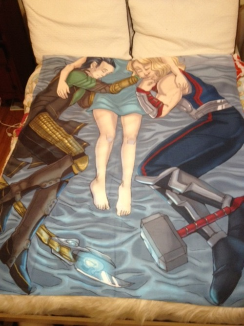 Loki and Thor Blanket