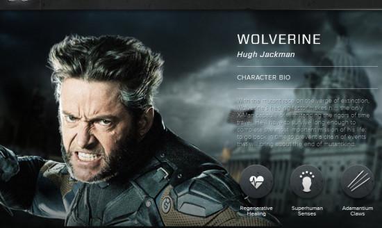 wolverine's hair