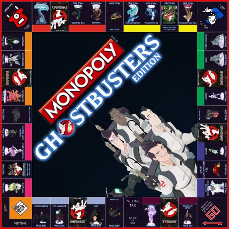 monopoly homemade board games real ghostbusters