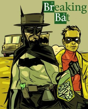 breaking bad mashup batman