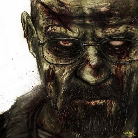 breaking bad mashup walking dead zombie walker