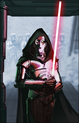 C-3PO darth threepio sith lord droid star wars what if