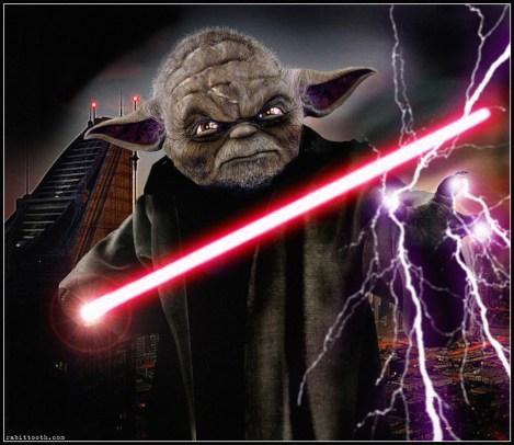 darth yoda dark side evil jedi star wars what if