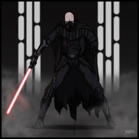 darth vader obi-wan final fight death star star wars what if