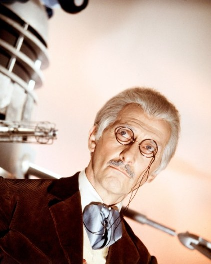 doctor who movies peter cushing