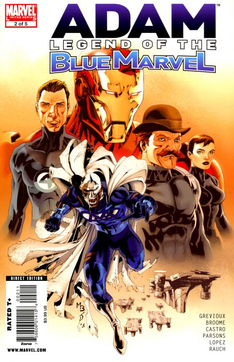 Adam Legend of Blue Marvel 2