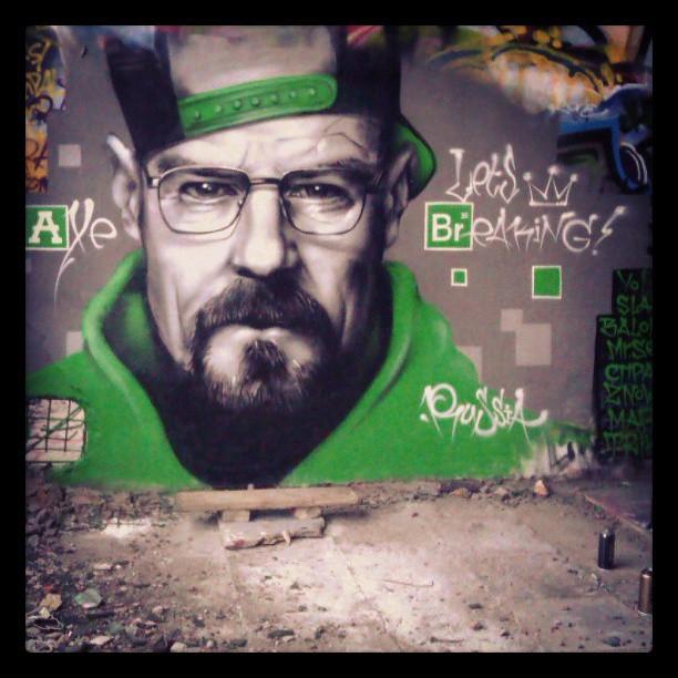 Breaking Bad Geek Graffiti