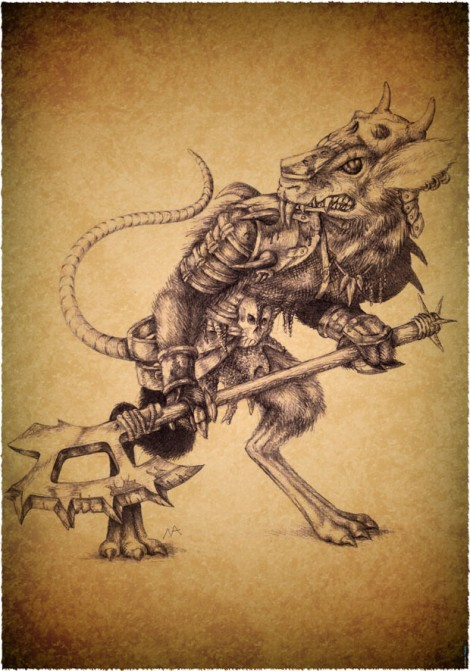 """Rat Troopers, one of the factions in """"Deathfire: Ruins of Nethermore"""""""