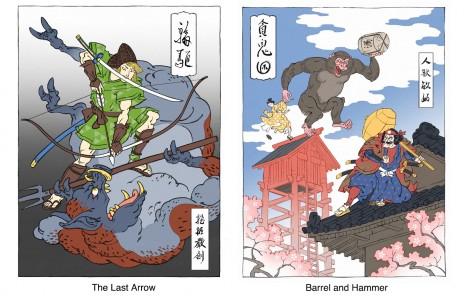 Ukiyo-e-Heroes-link-mario