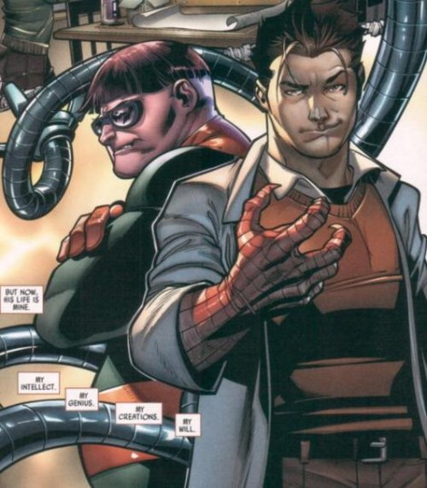 Doctor Octopus took evil to a whole new level when he took over the body and mind of Peter Parker