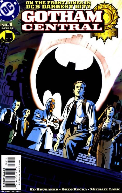 Gotham Central cover