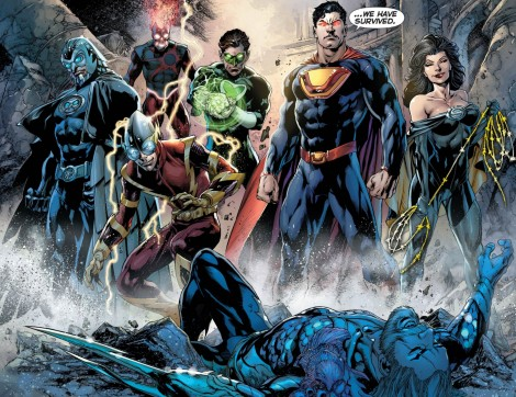 Take the morality out of the Justice League and you get the Crime Syndicate