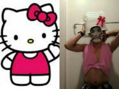Lowcost Cosplay - Hello Kitty