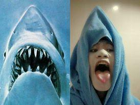 Low cost Cosplay - Jaws